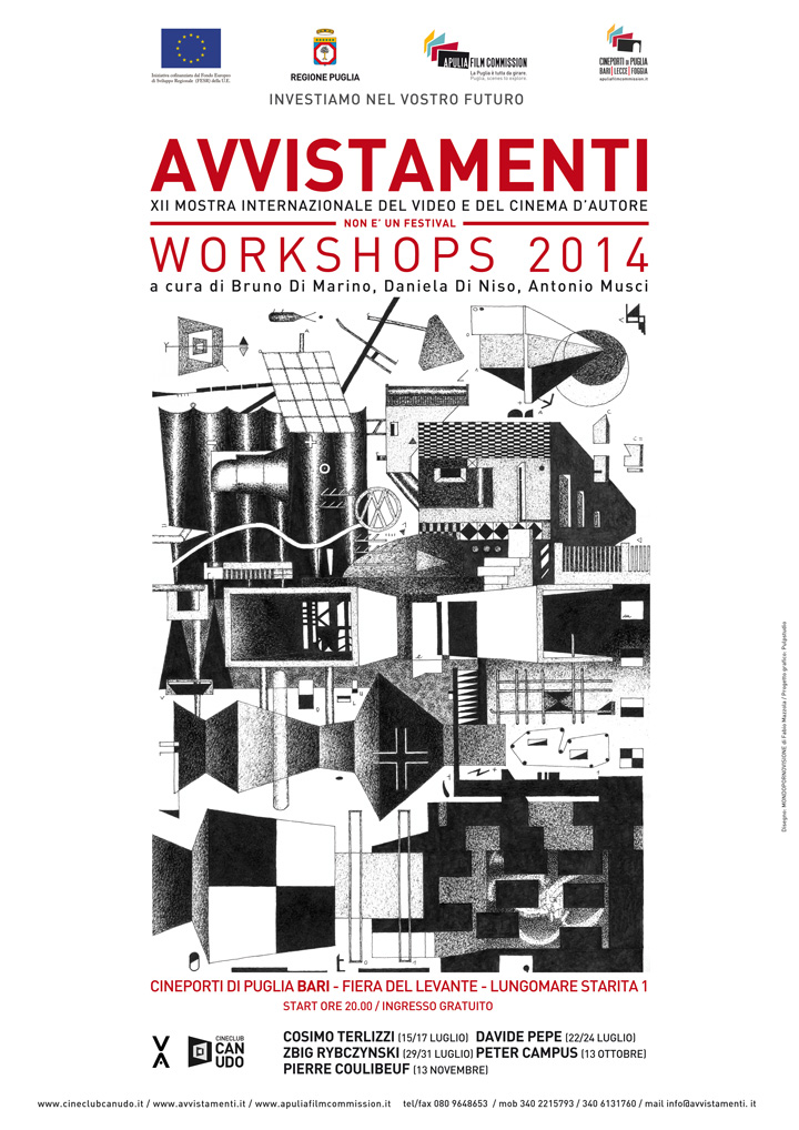 Avvistamenti Workshops 2014